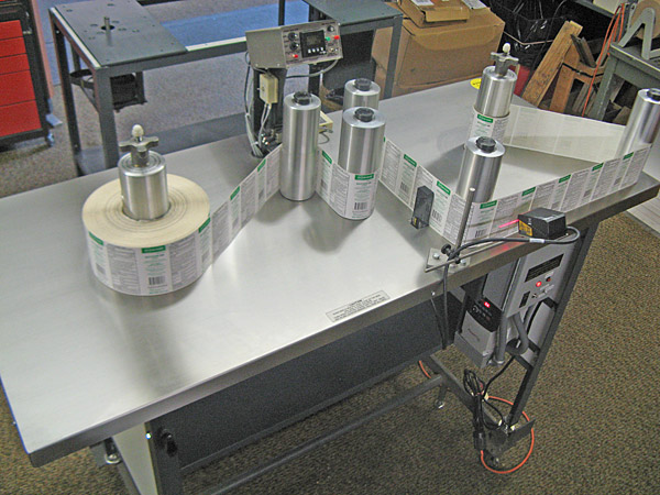 Teco Manufacturing Company Rewind Inspection Tables